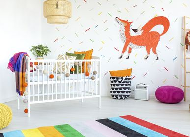 Other wall decoration - Reddy the Fox//Touch Wall Decoration - MINI ART FOR KIDS