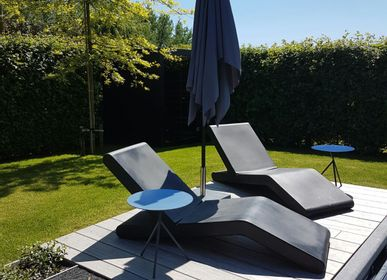 Spa - WOK sunbathing/lounger - Pascal BAUER design for PIKO Edition. - PIKO EDITION.