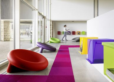 Loungechairs for hospitalities & contracts - Armchair HOP - design Pascal BAUER for PIKO Edition. - PIKO EDITION.