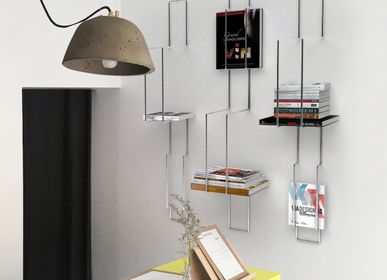 Bookshelves - GRID bookshelf - Thibault POUGEOISE design for PIKO Edition. - PIKO EDITION.
