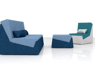 Sofas for hospitalities & contracts - Collection MODUL - design Thibault POUGEOISE for PIKO Edition. - PIKO EDITION.