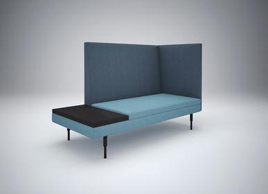 Benches for hospitalities & contracts - Modular seats ARY - design Sergio BALLESTEROS for PIKO Edition. - PIKO EDITION.