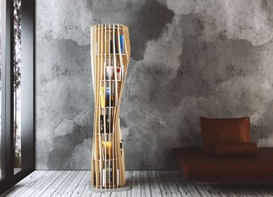 Bookshelves - Bookcase ROUAH 200 - Alexandre BOUCHER design for PIKO Edition. - PIKO EDITION.