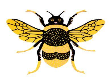 Autres décorations murales - le BUMBLE BEE // décoration murale tactile - MINI ART FOR KIDS