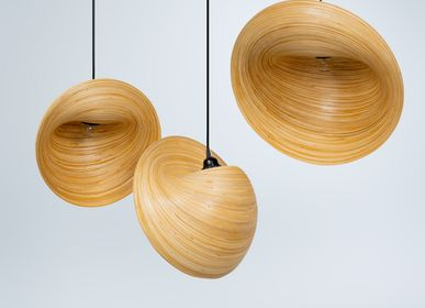 Design objects - PERISKOP bamboo handmade hanging lamp, pendant light - BAMBUSA BALI