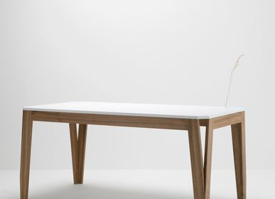 Dining Tables - MeliMelo table in walnut and resin - DELAVELLE