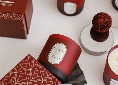 Gifts - Tuberose & Jasmine Scented Natural Candle - ECHOES CANDLE & SCENT LAB.