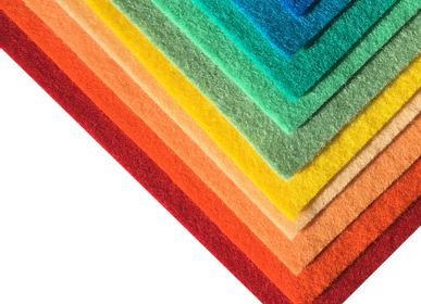 Other wall decoration - Woolfelt dyed colours Wall panel - HOLLANDFELT