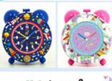 Decorative objects - SILENT ALARM CLOCK - BABY WATCH
