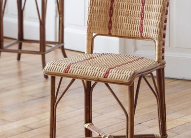 Chairs - Bagatelle rattan chair - KOK MAISON