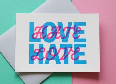 Card shop - Letterpress printed cards - PAPPUS ÉDITIONS