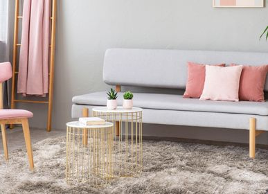 Rugs - TOOSOFT RUG - Extra-soft light beige long hair rug 120x170 - ALECTO