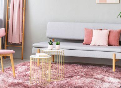 Rugs - TOOSOFT RUG - Extra-soft powdery pink long hair rug 120x170 - ALECTO