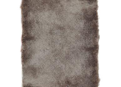 Tapis - TAPIS TOOSOFT - Tapis poils longs extra-doux taupe 120x170 - ALECTO