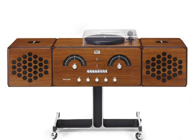 Design objects - radiofonografo rr226 fo-st walnut wood - BRIONVEGA