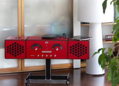 Design objects - radiofonografo rr226 fo-st red - BRIONVEGA