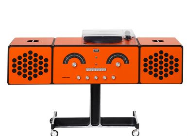 Design objects - radiofonografo rr226 fo-st orange - BRIONVEGA