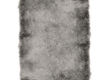 Tapis - TAPIS TOOSOFT - Tapis poils longs extra-doux gris 160x230 - ALECTO