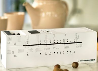 Speakers and radios - radio grattacielo RR327D+s white - BRIONVEGA