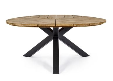 Dining Tables - PALMDALE CARBON RT02 TABLE 160 - BIZZOTTO