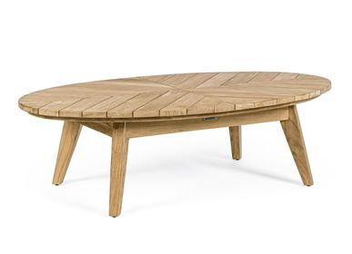 Coffee tables - COACHELLA OVAL COFFEE TABLE 120X70 - BIZZOTTO ANDREA