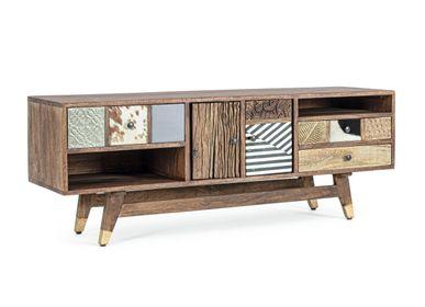 Bookshelves - DHAVAL CABINET TV HOLDER - BIZZOTTO