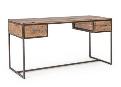 Desks - ELMER WRITING DESK 2DR - BIZZOTTO