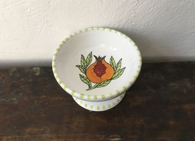 """Platter and bowls - Coppetta da dessert """"Frutta e Fiori"""" - AMARETTI ANTONELLA"""