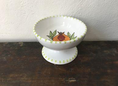 Platter and bowls - Frutta e Fiori Dessert Cup - AMARETTI ANTONELLA