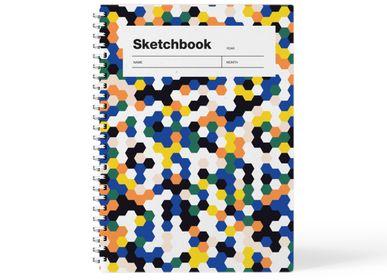 Stationery - A5 Sketchbook - Blank Paper - WEEW SMART DESIGN