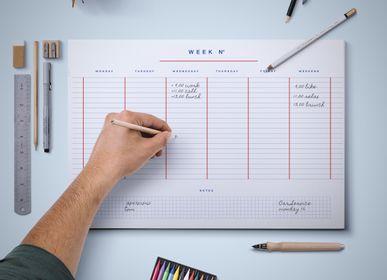 Papeterie - Agenda hebdomadaire - WEEW SMART DESIGN
