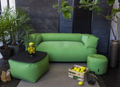 Sofas for hospitalities & contracts - Bean bag Sofa MooG Colorin Green - PUSKUPUSKU