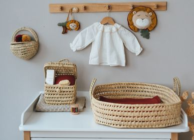 Shopping baskets - Wicker Doll Basket and Basket - KIKADU