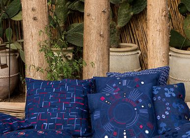 Fabric cushions - AAFREEN Cushion Cover  - NO-MAD 97% INDIA