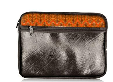 Bags and totes - CHINKARA VEGAN INNER TUBE CASE FOR 11 INCH COMPUTER AND TABLET - RUE RANGOLI