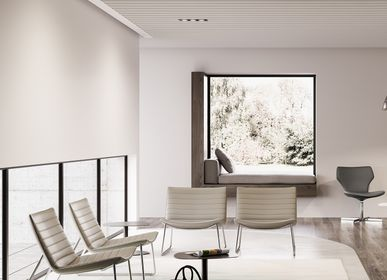 Loungechairs for hospitalities & contracts - DAMATRA waiting chair - ARTE & D
