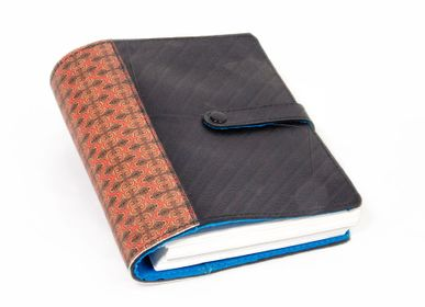Stationery - BINDI NOTEBOOK BINDER A5 IN INNER TUBE AND FELT - RUE RANGOLI