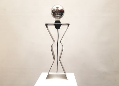 Decorative objects - Girl Power lamp  - ESPRIT MATIERES