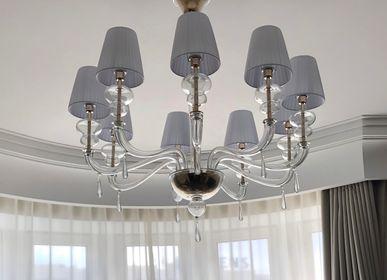 Ceiling lights - Palladium, Murano glass chandelier - MULTIFORME