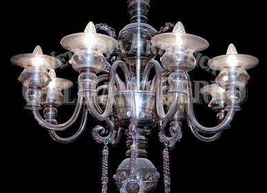 Suspensions - Amethist Lustre en verre de Murano - GALLIANO FERRO
