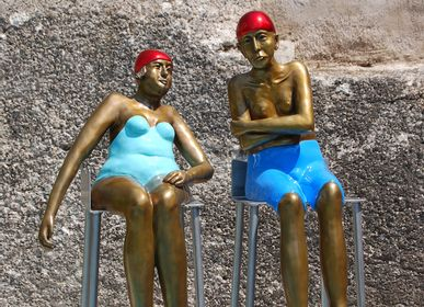 Sculptures, statuettes and miniatures - Him and Her - RONAYETTE MARIE-NOELLE