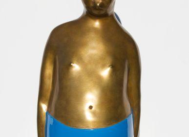 Sculptures, statuettes et miniatures - Sculpture Little Fat Boy - RONAYETTE MARIE-NOELLE