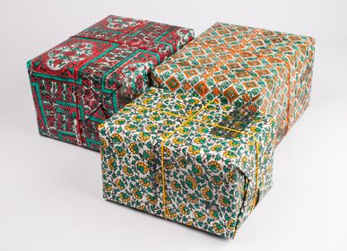 Gifts - PEACOCK  HAND PRINTED NEWSPAPER - RUE RANGOLI