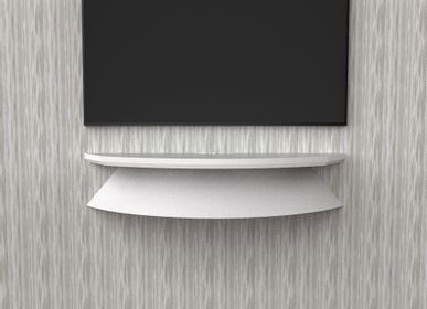 Consoles - Palchetto étagère hi-fi TV - remplace le chariot de meuble TV - LUNE DESIGN