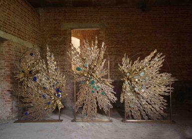 Sculptures, statuettes and miniatures - Midnight sun screen - VIYA HOME