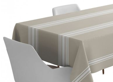 Table cloths - Saint-Jean-De-Luz Linen and Cotton Tablecloth (several sizes available) - LA MAISON JEAN-VIER