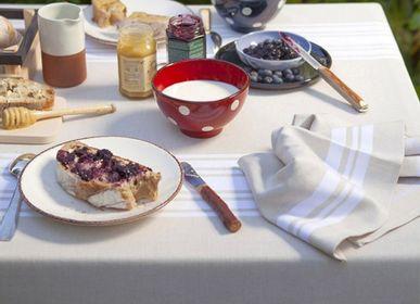 Table linen - Saint-Jean-De-Luz Linen and Cotton Tablecloth (several sizes available) - LA MAISON JEAN-VIER