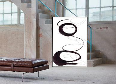 Affiches - Scribbles 1 impression d'art - METTEHANDBERG ART PRINTS