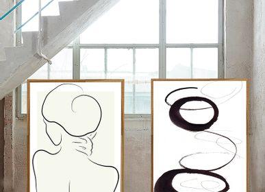 Poster - Scribbles 1 Art print - METTEHANDBERG ART PRINTS