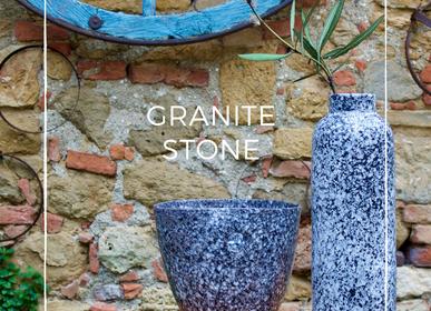 Céramique - GRANITE STONE/ceramic glaze - EVA MUN